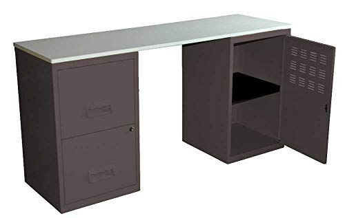 Pierre Henry Bureau Design en métal