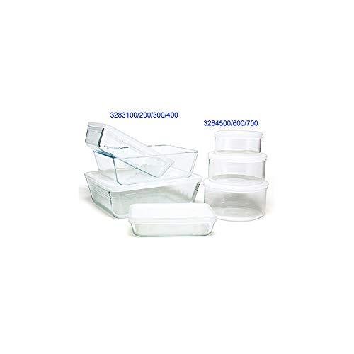 Pyrex - 243p000/5046 - Plat rectangulaire 2.6l verre + couvercle plastique