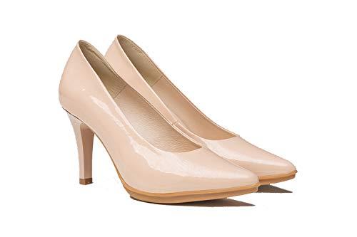 Zapatos de Salón Mujer de Piel | Fabricados en España. Disponible Desde...