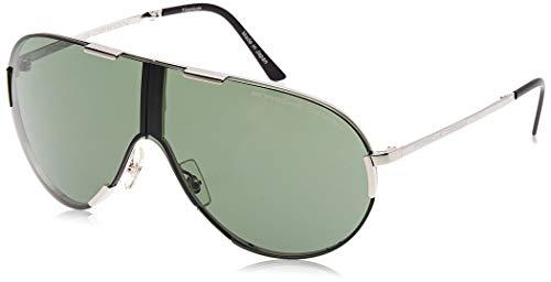 Porsche Design Sonnenbrille P8486-B-68 Aviator Sonnenbrille 68, Grau