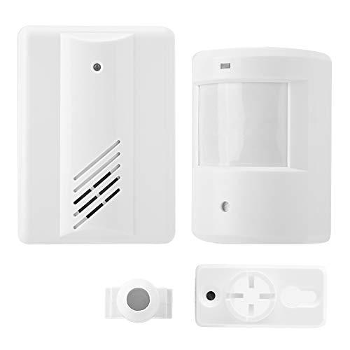 Zetiling Draadloze deurbel, sterk gevoelige sensor, welkomstdeurbel, automatische alarm, kwaliteit ABS deurbel, voor thuishouse winkel