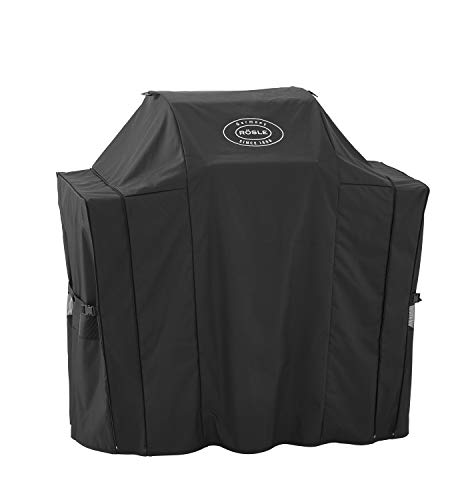 RÖSLE Cover BBQ station VIDERO G2/G2-S, high-quality protective cover made of 100% polyester with PU coating, practical zip, weatherproof cover.