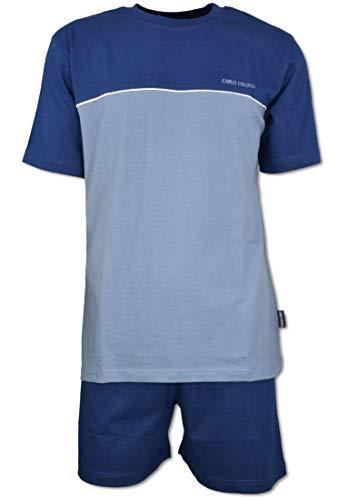 Carlo Colucci Herren Shorty - Set Blau XL