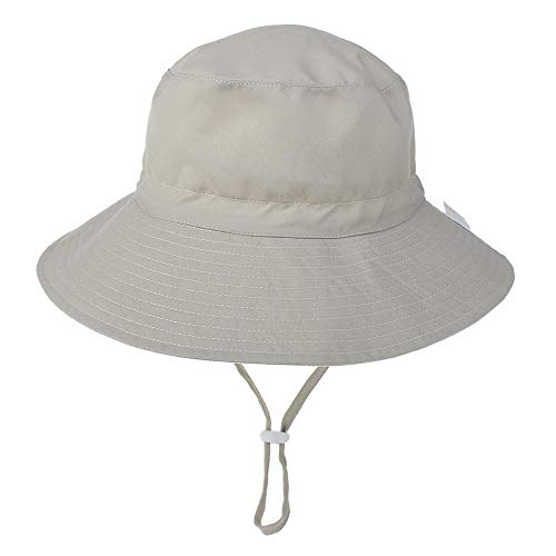 Verano Bebé Sombrero para El Sol Niños Cuello Al Aire Libre Cubierta para Los Oídos Protección Anti UV Gorros De Playa Niño Niña Sombreros De Natación para 0-8 Años For_6-36_Months