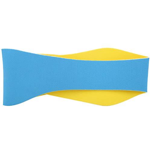 Alvinlite Schwimmstirnband - Ohrband Schwimmer Gehörschutz Elastischer Ohrschutz Verstellbares Schwimmstirnband Hält Wasser ab Haarschutz für Kinder(Blau)