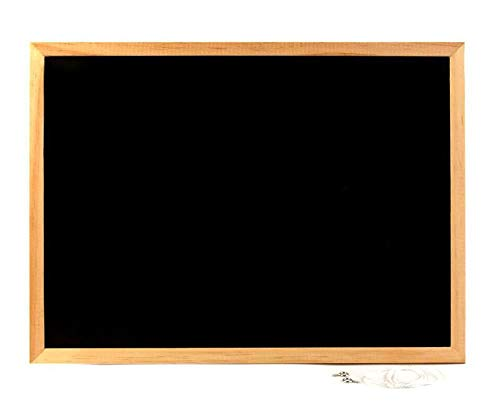 Bacheca in sughero con cornice extra-robusta in legno per fissare annotazioni e messaggi 600 x 400 mm