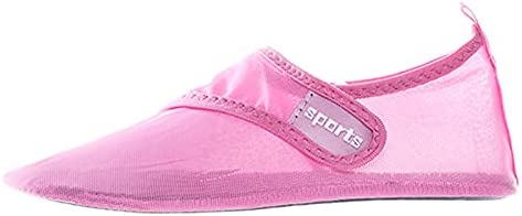 YINI Beach Water Shoes Quick-Drying Swimming Aqua Shoes Seaside Slippers Surf Upstream Light Sports Unisex Flats Water Sneakers (Color : Pink, Shoe Size : 40)
