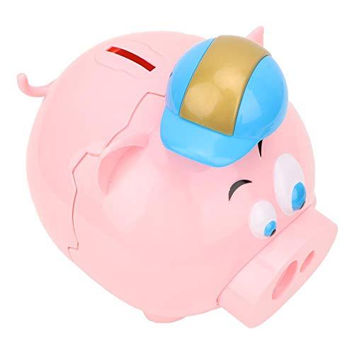 Cofrinho de moedas, bonito e adorável, inodoro e ecológico, liso, sem rebarbas Brinquedo de banco de moedas, conveniente para transportar e guardar meninos para meninas Office Home