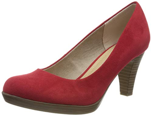 MARCO TOZZI Damen 2-2-22411-34 Pumps, Rot (Red 500), 39 EU
