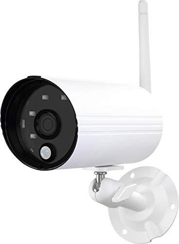Abus PPDF14520W OneLook Funk-Außenkamera, 1.4 W, weiß