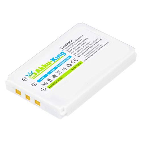 Akku-King Akku kompatibel mit Logitech R-RG7, R-IG7, F12440071 - Li-Ion 1000mAh - für Harmony One 720, 785, 880, 885, 890, 895, 900, MX-880, MX-890