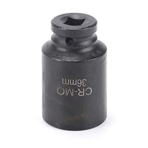 KingSaid - Llave de vaso de impacto (36 mm, 1/2 dr y 12 puntos)