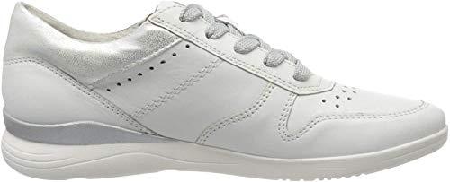 Jana Softline Damen 8-8-23751-24 Sneaker, Weiß (White Uni 107), 39 EU