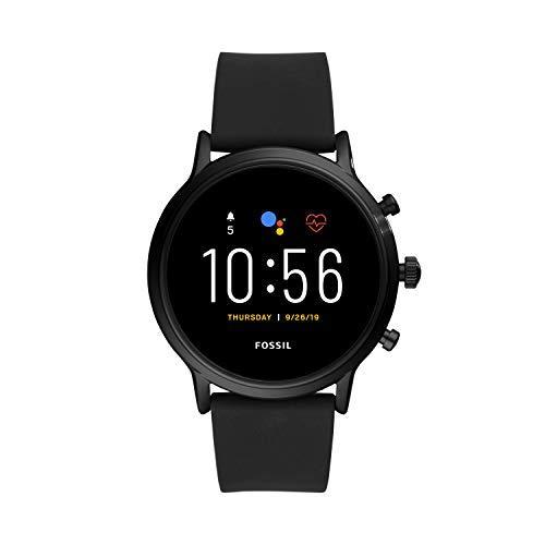 Fossil Smartwatch Gen 5 para Hombre con Pantalla táctil, Altavoz, frecuencia cardíaca, GPS, NFC y notificaciones smartwatch + Correa para Reloj S221299