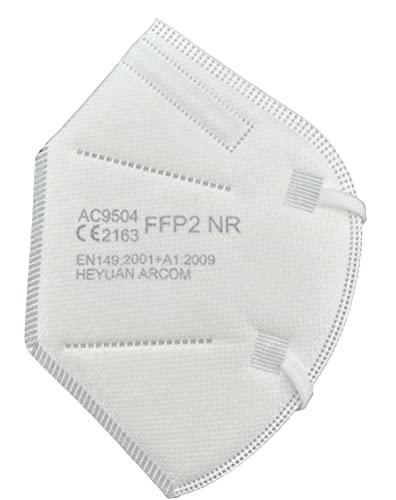 Arcom 20x - MASCHERINE FFP2 - CERTIFICATE CE - 20 pz, taglia unica