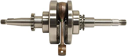 50cc Crankshaft with Bearings Connecting Rod GY6 Scooter 139QMB 17 & 16 Teeth