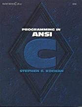 Programming in ANSI C (Hayden Books C library)