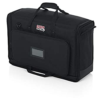 Gator Cases Padded Nylon Dual Carry Tote Bag for Transporting  2  LCD Screens Monitors and TVs Between 19  - 24    G-LCD-TOTE-SMX2