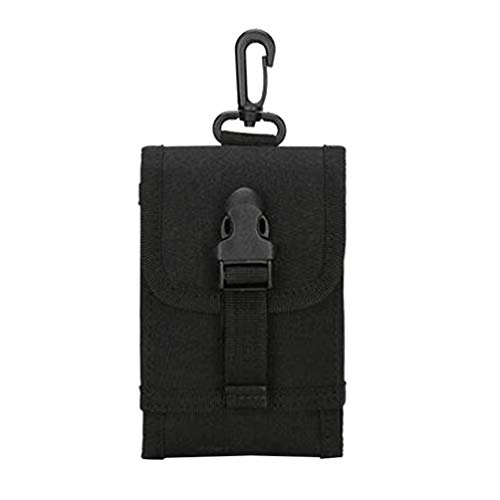 Tennycoco tas voor mobiele telefoon, buiten, opbergtas van Oxford-weefsel, draagbaar, voor wandelen, reizen - modderkleur 6 inch