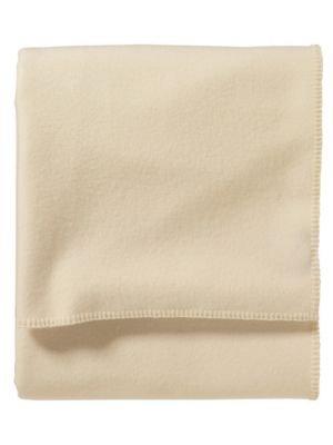Pendleton - Eco-Wise Washable Wool Blanket, White, King