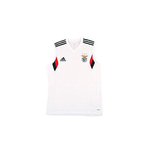 adidas SLB SL JSY Sport Lisboa e Benfica 2015/2016 - Camiseta Oficial Hombre, Color Rojo/Negro (Blanco/Griosc/Ben.ro), Talla S