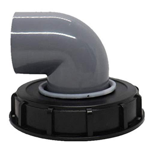 Didad Tapa de Cubierta de Barril de Tonelada IBC con Filtro de Nailon con VentilacióN de Barril de Tonelada Cubierta de PláStico Tote Tapa de Tanque Tapa de RespiracióN Ajuste-B