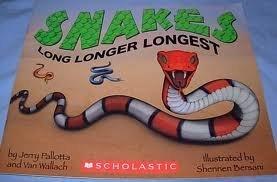 Paperback snakes long longer longest Book