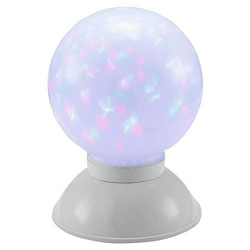 Europalms 60003 LED Effectball 20 cm Multicolore, Blanc