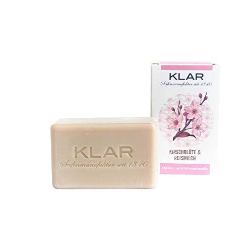Klar's Kirschblüten & Reismilchseife 100 g