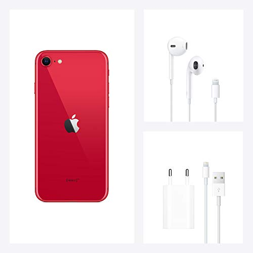Apple iPhone SE (128GB) - (Product) RED (inklusive EarPods, Power Adapter)