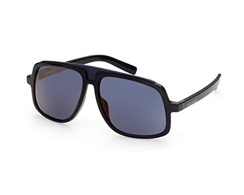 DSQUARED2 Gafas de sol DQ0363 05X Gafas de sol Hombre color Negro azul tamaño de lente 59 mm