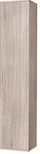 WILMES Schrank Ronny 40 cm, 1 Tür, Sonoma Eiche Dekor