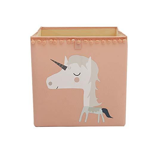 Cajas Cubo Caja de almacenamiento plegable para juguetes de kaids Organizador de ropa interior Ropa interior Calcetines Contenedores de almacenamiento 3 Cajas de tamaño Organizador