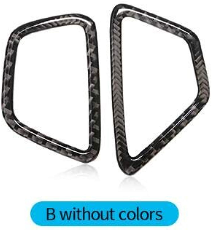 Air Trim Outlet AC Sticker Refit Fiber Carbon Accessories