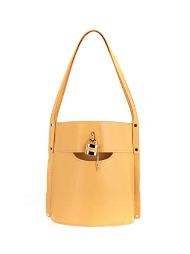 Luxury Fashion | Chloé Dames CHC20SS209C42746 Geel Leer Handtassen | Lente-zomer 20