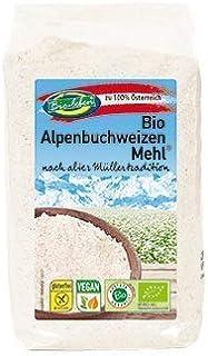 comprar comparacion Harina de trigo sarraceno ecológica sin gluten 2,4kg Bio biológicoa de grano entero sin OMG alforfón crudo de Austria 6x400g