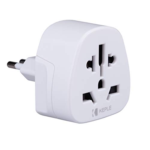 Adattatore Spina Elettrica Inglese UK Italiana IT Adapter Plug Viaggio da Tipo L to a UK, USA American, Australia, EU, China, Thailandia, Japan Adattatore Presa Universale Internazionale