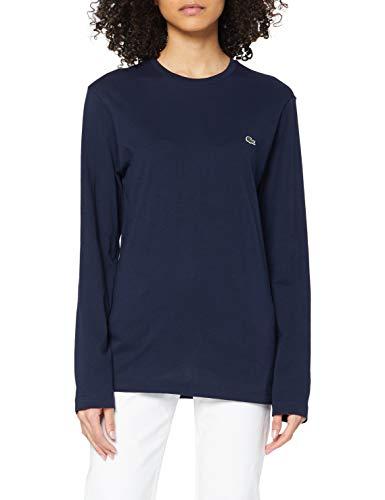 Lacoste Damen TH2040 T-Shirt, Blau (Navy Blue 166), X-Large