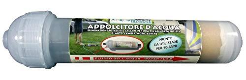 Acquatravel Filtro Wash ADDOLCITORE Acqua ANTICALCARE Lavaggio Camper Barca Auto
