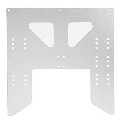 Piastra in alluminio per letto caldo da 219 x 219 x 3 mm, piastra in alluminio anodizzato per carrello Pgrade Y per accessori per stampanti 3D PRUSA I3/Anet A8