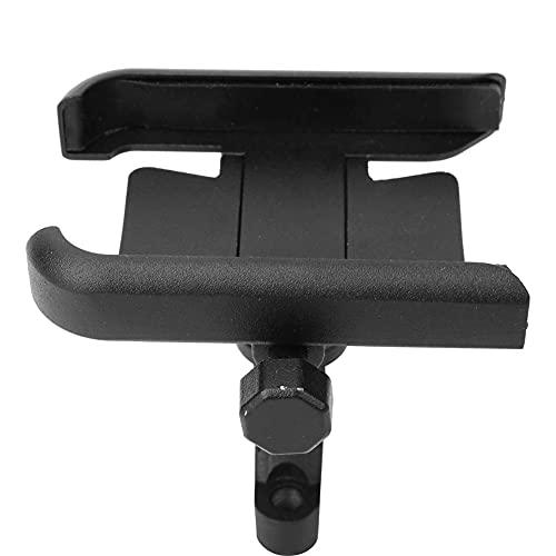Denkerm Soporte para teléfono de Ciclismo, Soporte para teléfono Resistente al Desgaste, Universal para teléfonos móviles de 4-7 Pulgadas en Bicicleta(Black)