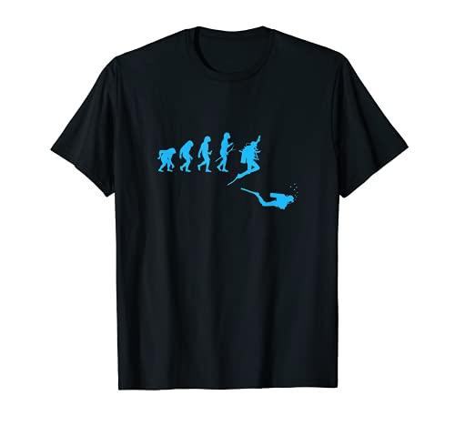 Immersione subacquea subacquea evoluzione Maglietta