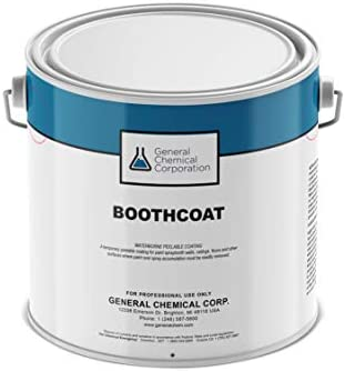 Booth Coating Clear Peelable Paint Boothcoat Protect Walls Floors Ceilings Light Fixtures Easy product image