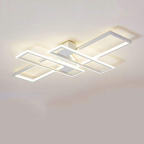 Plafoniera a LED Soggiorno Lampada a Soffitto Moderno Rettangolo Quadrato Designer Lampada a...