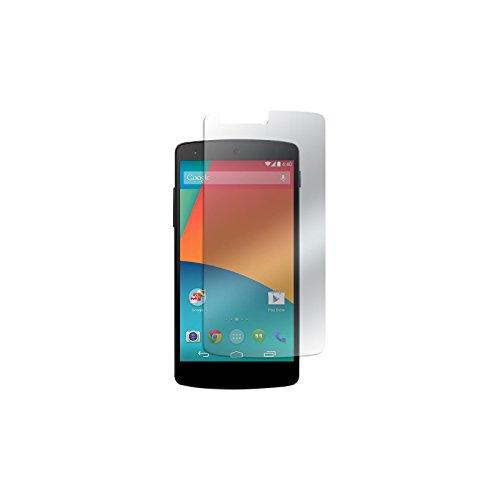 PhoneNatic 1 x Glas-Folie klar kompatibel mit Google Nexus 5 - Panzerglas für Nexus 5