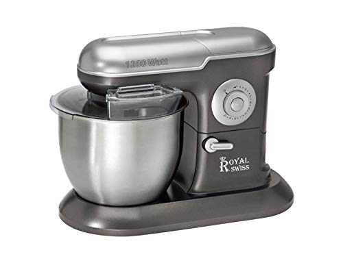 Robot de pâtisserie (pétrin) en inox 6,5 Litre