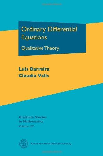 Ordinary Differential Equations: Qualitative Theory (Graduate Studies in Mathematics)