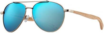 BLUE PLANET Polarized Sunglasses ECO Men Women Sustainable Beechwood Ladies Designer Eyewear product image