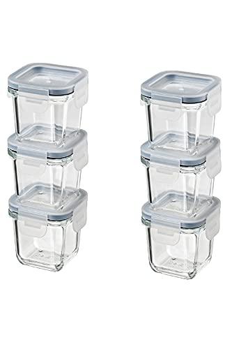 pojemniki na żywność szklane ikea