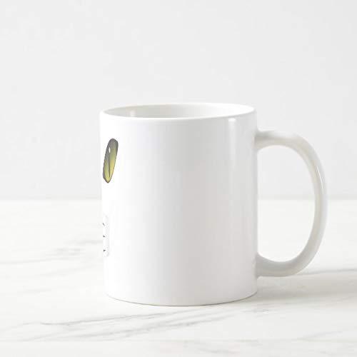 Divertida taza de café, máscara de gato disfraz divertido Halloween niños una taza de café, taza de café de 325 ml, taza de té o café, taza de café novedosa taza de regalo para mujeres y hombres